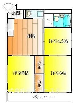 マンション(建物一部)-大阪市住吉区長居3丁目 ファミリー向けの間取り