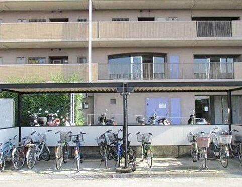 マンション(建物一部)-神戸市西区池上1丁目 雨を凌ぐ屋根付き駐輪場