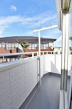新築一戸建て-仙台市宮城野区平成2丁目 バルコニー