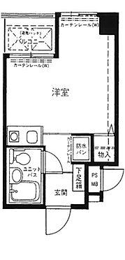 区分マンション-神戸市中央区花隈町 間取り