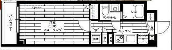マンション(建物一部)-世田谷区東玉川2丁目 間取り
