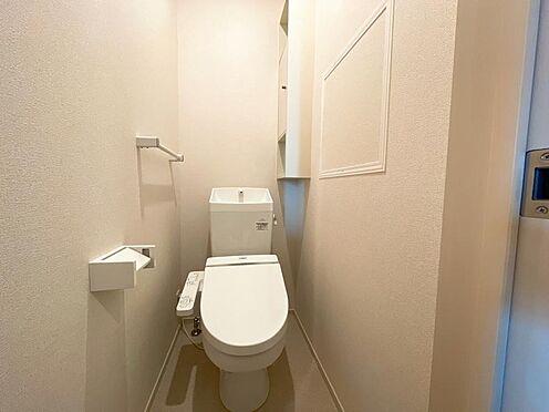 アパート-都城市都北町 ウオシュレット付きトイレ