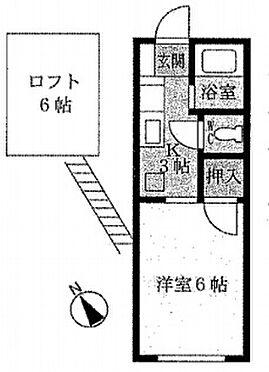 アパート-稲敷郡阿見町うずら野4丁目 間取り