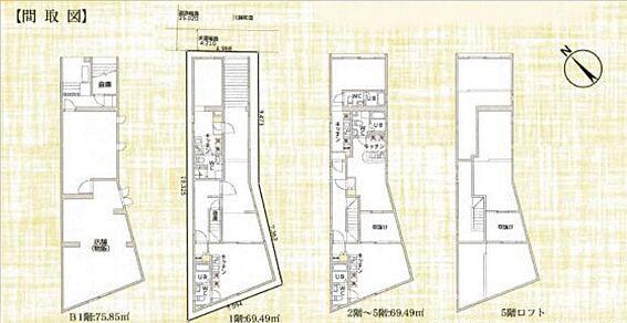 マンション(建物全部)-板橋区大山西町 間取り