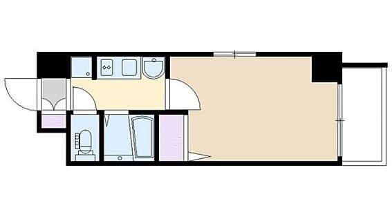 マンション(建物一部)-大阪市港区市岡1丁目 二面開口で採光に配慮したプラン