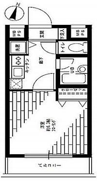 マンション(建物一部)-墨田区錦糸1丁目 間取り
