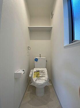 新築一戸建て-大阪市旭区新森7丁目 トイレ