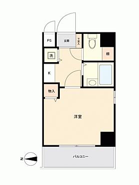 マンション(建物一部)-大阪市中央区瓦屋町3丁目 間取り