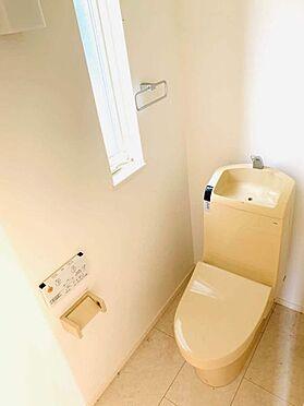 中古一戸建て-津島市百島町字居屋敷 トイレには快適な温水洗浄便座付き!