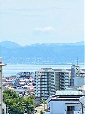 マンション(建物一部)-神戸市垂水区上高丸1丁目 バルコニーからの眺望、明石大橋が望めます。