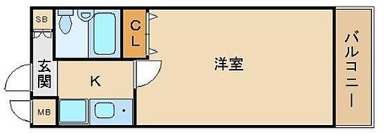 マンション(建物一部)-大阪市東成区中道1丁目 水まわりと居室をわけた暮らしやすいプラン
