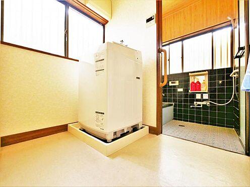 店舗・事務所・その他-横浜市保土ケ谷区仏向町 【洗面・脱衣所】広さにも余裕があり使い勝手よいです