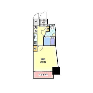マンション(建物一部)-大阪市浪速区大国1丁目 間取り