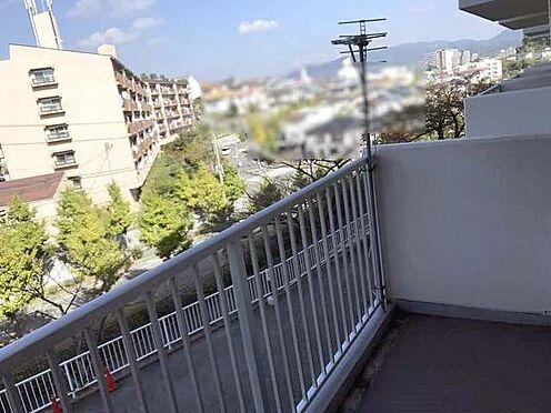中古マンション-神戸市北区泉台3丁目 バルコニー