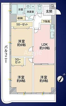 マンション(建物一部)-大田区新蒲田1丁目 間取り