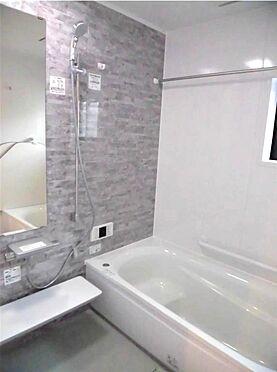 新築一戸建て-さいたま市大宮区宮町3丁目 TOTO魔法瓶浴槽・広い1616サイズ・カラリ床・24H浴室乾燥機付き