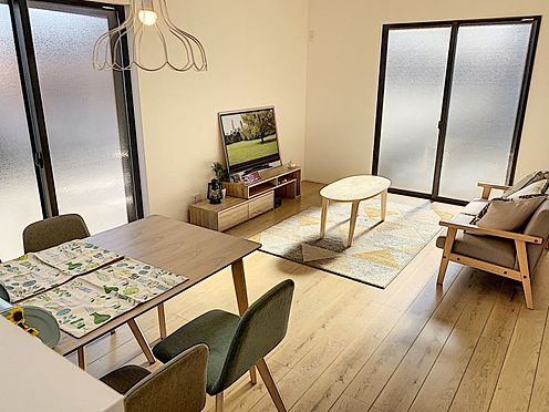 新築一戸建て-名古屋市中村区稲葉地町4丁目 家族団らんできるくつろぎスペース。(同仕様)