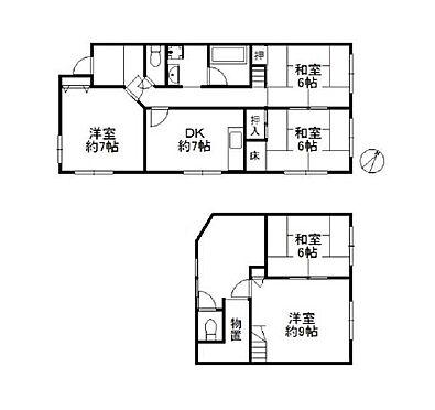 マンション(建物一部)-神戸市垂水区千鳥が丘3丁目 間取り