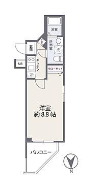 区分マンション-板橋区舟渡2丁目 間取り図
