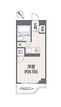 中古マンション-渋谷区本町5丁目 間取り図