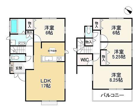 新築一戸建て-神戸市北区ひよどり台2丁目 間取り