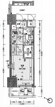 マンション(建物一部)-神戸市中央区旭通2丁目 間取り