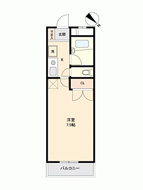 マンション(建物一部)-国分寺市東恋ケ窪2丁目 間取り