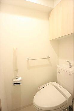 区分マンション-台東区日本堤2丁目 温水洗浄便座のトイレ