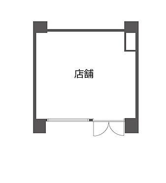 店舗(建物一部)-横浜市南区白妙町3丁目 間取り
