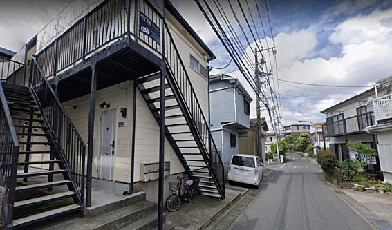 アパート-横須賀市野比2丁目 前面道路の様子