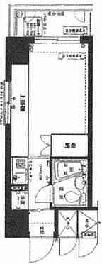 マンション(建物一部)-中央区築地7丁目 間取り