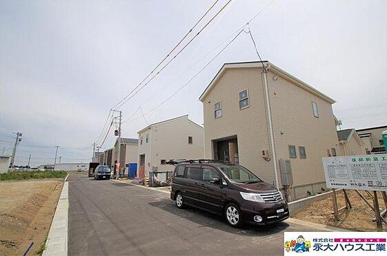 戸建賃貸-大崎市古川鶴ケ埣字新江南 外観