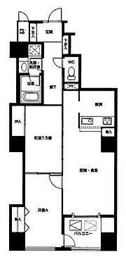 マンション(建物一部)-北九州市門司区東港町 間取り