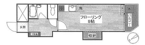 マンション(建物一部)-江東区牡丹2丁目 間取り
