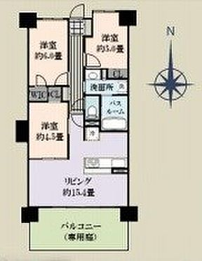 中古マンション-戸田市新曽南3丁目 間取り