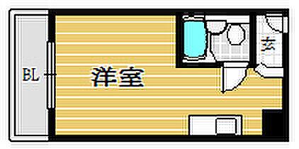 マンション(建物一部)-福岡市中央区天神3丁目 間取り