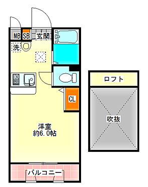 区分マンション-大阪市淀川区宮原1丁目 図面より現況を優先します。