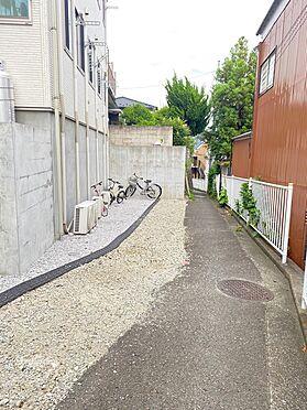 アパート-横浜市西区東久保町 前面道路