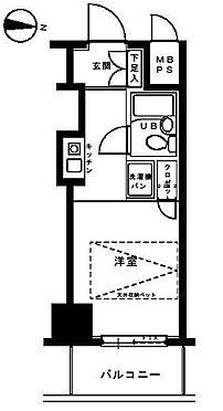 区分マンション-横浜市磯子区中原1丁目 間取り