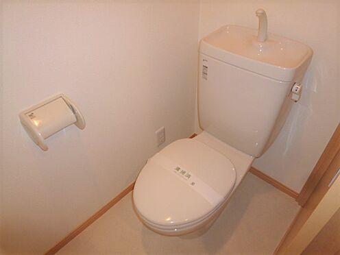 アパート-横浜市神奈川区入江1丁目 清潔感のあるトイレ