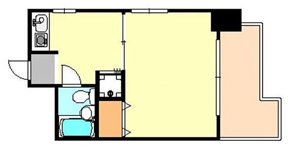 マンション(建物一部)-神戸市兵庫区大開通5丁目 広々とした1DK