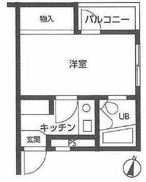 マンション(建物一部)-新宿区西落合1丁目 間取り