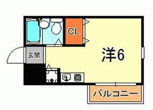 マンション(建物一部)-神戸市東灘区青木2丁目 間取り