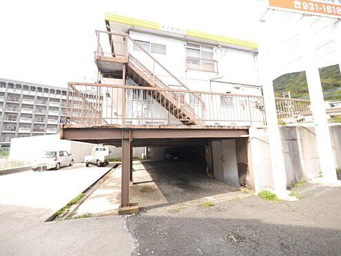 店舗・事務所・その他-北九州市小倉北区霧ケ丘3丁目 建物裏部分と1階部分です。