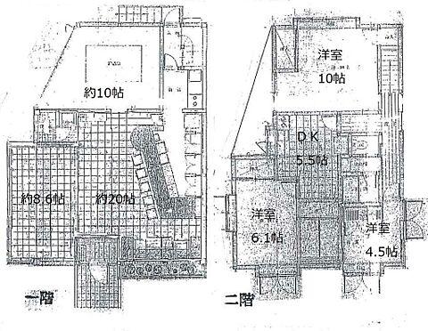 店舗付住宅(建物全部)-藤枝市時ケ谷 間取り