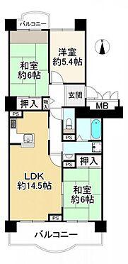 マンション(建物一部)-大阪市阿倍野区阿倍野筋3丁目 間取り