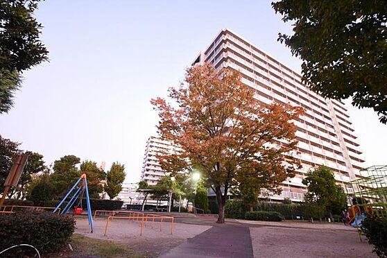区分マンション-大阪市旭区高殿2丁目 敷地内公園