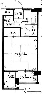 マンション(建物一部)-浜松市北区三ヶ日町都筑 間取り