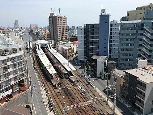 中古マンション-江戸川区北小岩6丁目 和室(南側窓)からの眺望