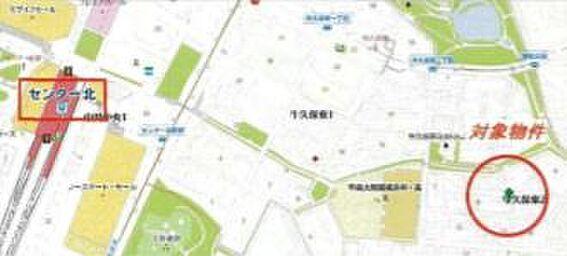 ビル(建物全部)-横浜市都筑区牛久保東2丁目 地図